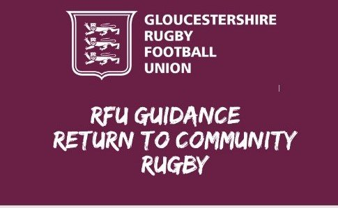 RFU Guidance - return to Community Rugby